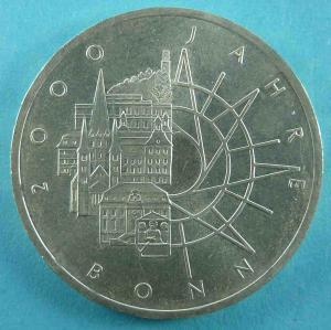 10 DM Gedenkmünze 2000 Jahre Bonn