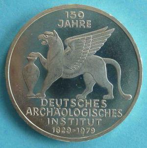 """5 DM Gedenkmünze """"Deutsches Archäologisches Institut"""""""