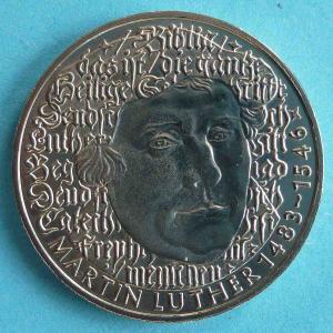 """5 DM Gedenkmünze """"Martin Luther"""""""