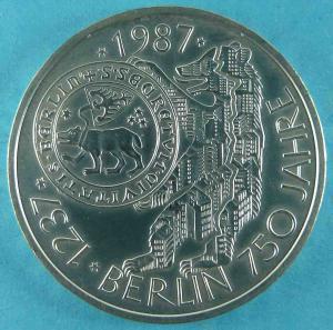 10 DM Gedenkmünze 750 Jahre Berlin