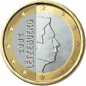 Luxemburg-1-euro