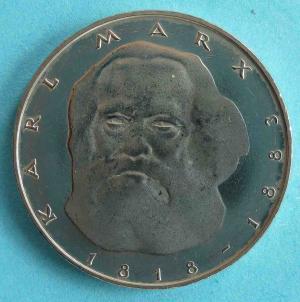"""5 DM Gedenkmünze """"Karl Marx"""""""